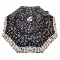 Satynowa automatyczna parasolka damska marki Parasol