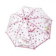 Dziecięca głęboka parasolka z motywem kotka Hello Kitty