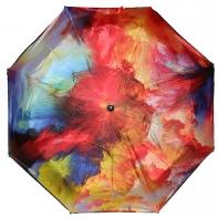 Długa automatyczna parasolka z serii malarstwo: jesienna impresja