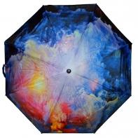 Długa automatyczna parasolka z serii malarstwo: jesienny sztorm