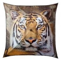 Duża parasolka damska w kształcie kwadratu tygrys