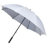 Bardzo duża damska parasolka w kolorze białym