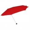 Mała sztormowa parasolka damska 80 km/h, czerwona