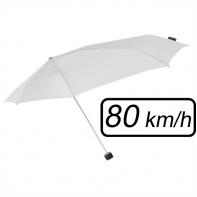 Mała sztormowa parasolka damska 80 km/h, biała