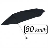 Mała sztormowa parasolka damska 80 km/h, czarna