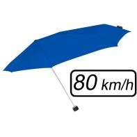 Mała sztormowa parasolka damska 80 km/h, niebieska