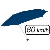 Mała sztormowa parasolka damska 80 km/h, granatowa