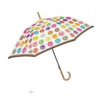 Długa automatyczna parasolka, PĄCZKI - DONUTS
