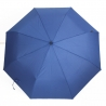 Klasyczna bardzo lekka parasolka Bugatti, niebieska