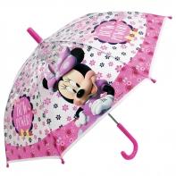 Dziecięca parasolka dziecięca Myszka Minnie, przezroczysta