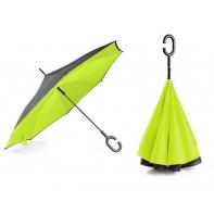 """Parasol odwrócony """"Revers"""" w kolorze jasno zielonym"""