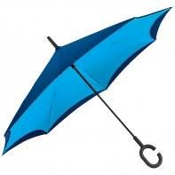 """Parasol odwrócony """"Revers"""" niebiesko granatowy"""