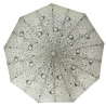Automatyczna parasolka damska Tiros w krople, ecru