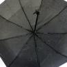 Automatyczna parasolka damska Tiros w krople, czarna