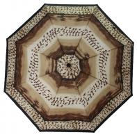 Automatyczna parasolka damska Tiros, brązowe pasy