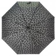 Automatyczna parasolka damska Tiros, szara penterka