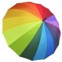 Automatyczny duży parasol TĘCZA, 16 brytów