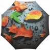 Automatyczny damski parasol w liście 3D