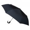 Czarna automatyczna parasolka męska marki Parasol z czarną rączką