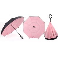 """Parasol odwrócony """"Revers"""" różowy"""