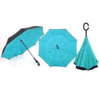"Parasol odwrócony ""Revers"" błękitny"