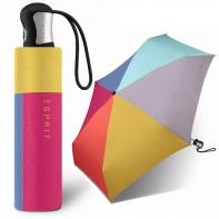 Mocna automatyczna mini parasolka Esprit, tęcza