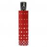 Bardzo mocna damska automatyczna parasolka Doppler, czerwona