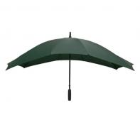 Szeroka parasolka w kolorze zielonym