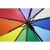 Parasolka damska Blue Rain, pełny automat, tęcza