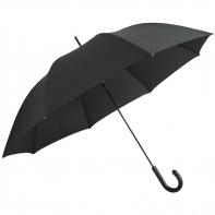 Eksluzywna męska parasolka XL, skórzana rączka