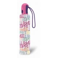Mocna automatyczna parasolka Esprit, pastelowa tęcza