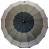 Duży, automatyczny trójkolorowy parasol damski, 16 brytów, XL