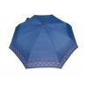 Automatyczna parasolka damska marki Parasol, niebieska w kółka