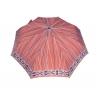 Automatyczna parasolka damska marki Parasol, brązowa w paski