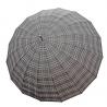 Bugatti - ekskluzywny bardzo duży i mocny parasol męski w kratę