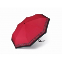 Automatyczna mocna parasolka Pierre Cardin, czerwona