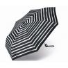 Automatyczna mocna parasolka Pierre Cardin, czarna w paski