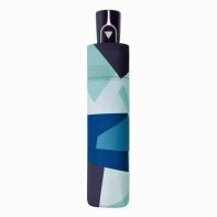 Parasolka damska automatyczna Doppler, niebieski wzór