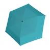 Bardzo lekka wytrzymała płaska parasolka Doppler, niebieska