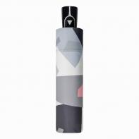 Parasolka damska automatyczna Doppler, szary wzór