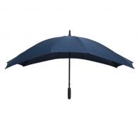Szeroka parasolka w kolorze granatowym