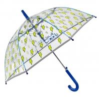 Dziecięca parasolka z odblaskową lamówką, błyskawice