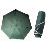 Ultra lekka mini parasolka damska 18 cm, zielona