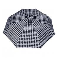 Wytrzymała automatyczna parasolka damska PARASOL, szachownica