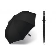 Bardzo duża, automatyczna parasolka Happy Rain - 130 cm, czarna
