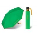 Automatyczna parasolka Benetton, zielona z lamówką