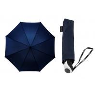 Holenderska parasolka z pokrowcem - automat 2w1, granatowa