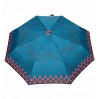 Automatyczna parasolka damska marki Parasol, turkusowe liście