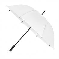 Bardzo duży, wytrzymały, lekki parasol w kolorze BIAŁYM