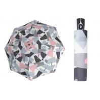 Automatyczna MOCNA parasolka damska Doppler, UV SPF 50, SZARA